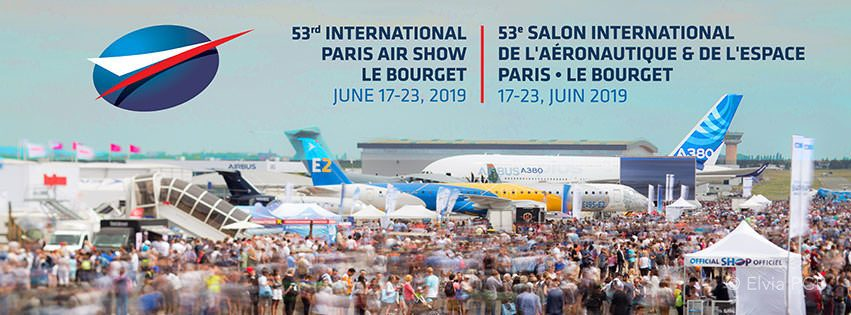 TMCS présent au Salon International de l'Aéronautique et de l'Espace du Bourget 2019 à Paris !